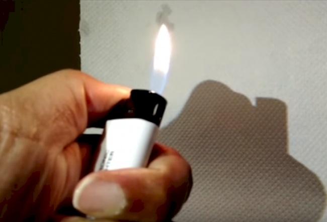 آتش سایه دارد؟