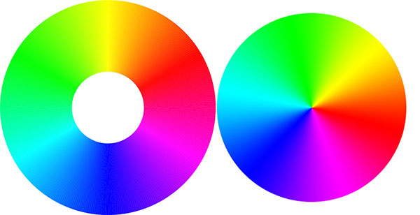 چند رنگ در یک استایل