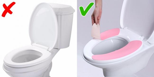 محافظ بهداشتی توالت فرنگی استفاده کنید