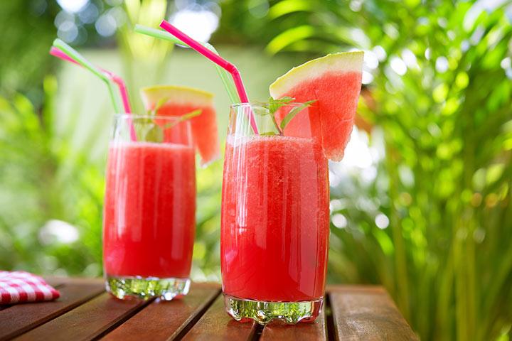 فواید آب هندوانه