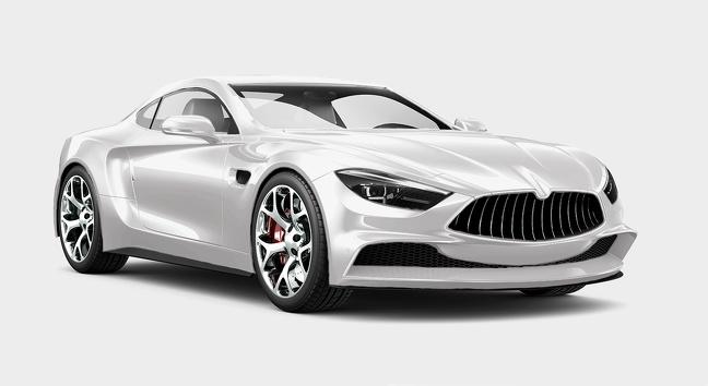 ماشین سفید