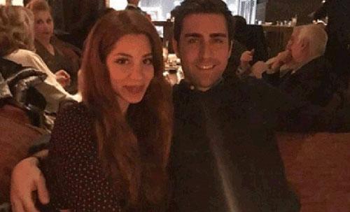 چاعلار ارتورول و نامزدش کایلا مانوکیان