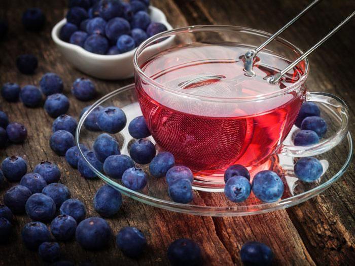 خواص و طرز تهیه چای بلوبری