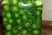 ترشی گوجه سبز