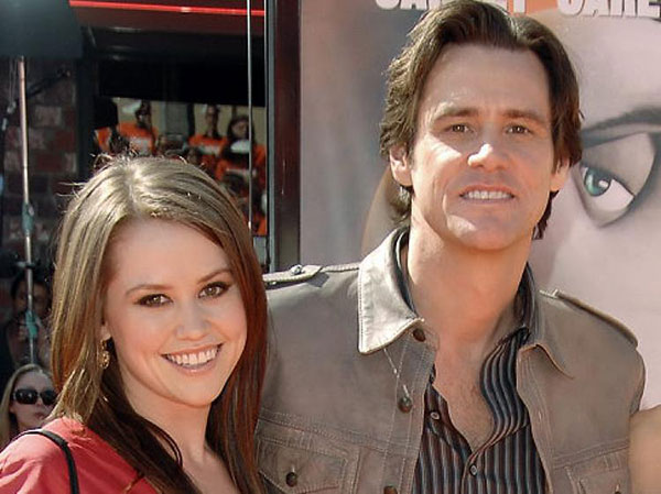 جیم کری و دخترش جین