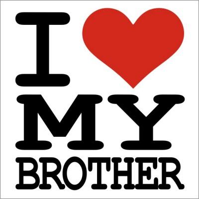 من برادرم را دوست دارم