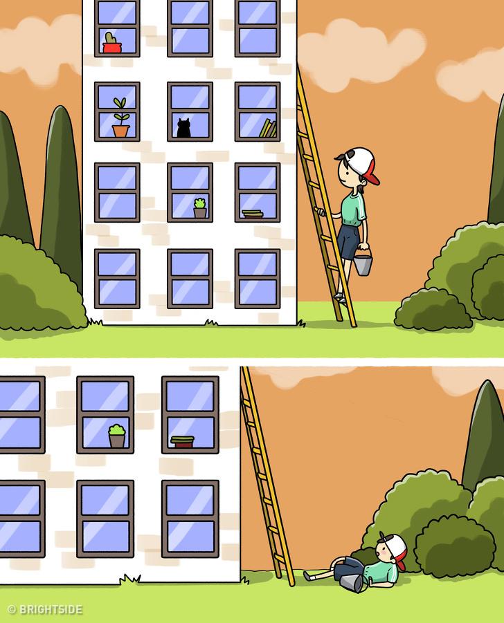 جواب معمای نردبان