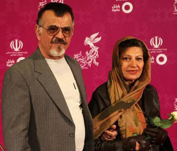 مهدی فخیم زاده و همسرش