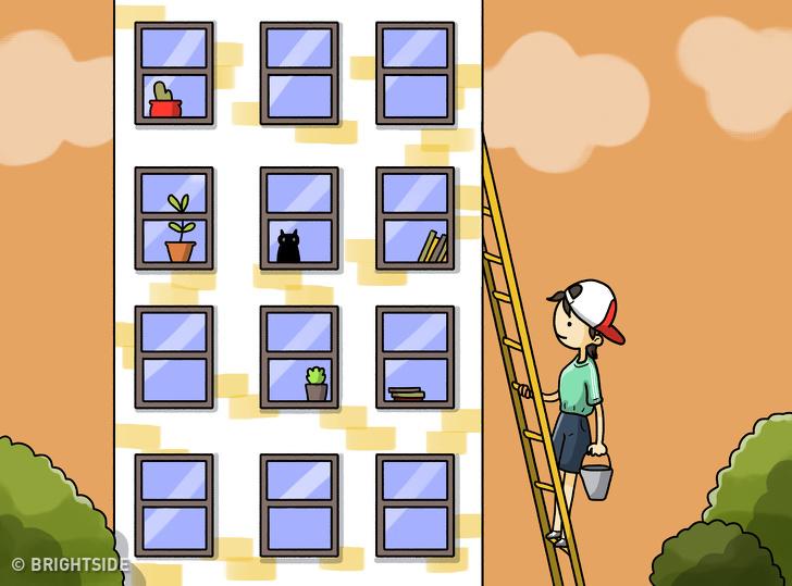 معمای نردبان