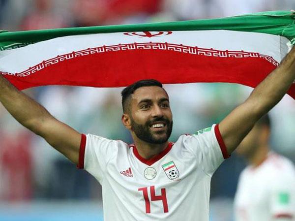 سامان قدوس در تیم ملی فوتبال ایران