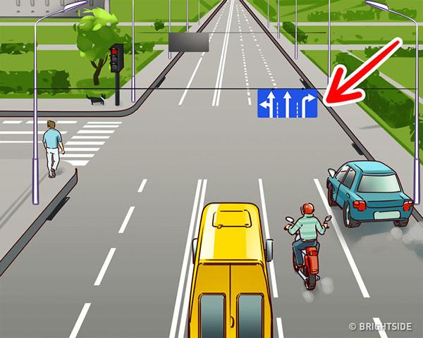 جواب تست ترافیک در خیابان
