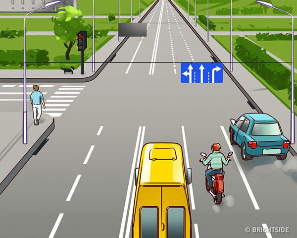تست اشتباه تصویر زیر کجاست : ترافیک در خیابان
