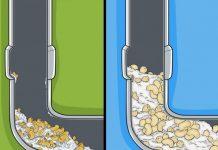 مسدود شدن فاضلاب با برنج و ماکارونی