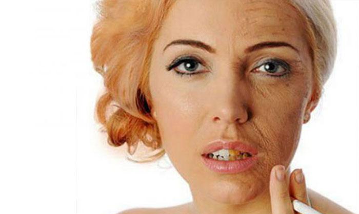 مضرات و عوارض سیگار برای پوست و مو