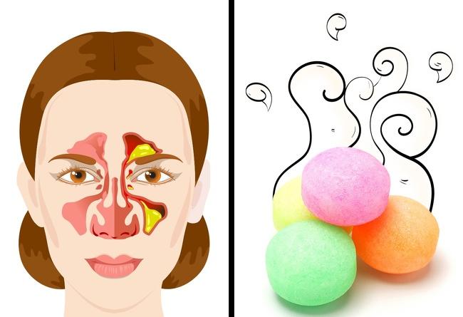 بیماری های تنفسی - بوی نفتالین