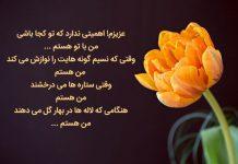 متن کوتاه عاشقانه و گل لاله
