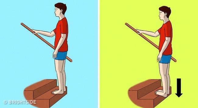 حرکت کششی ساق پا