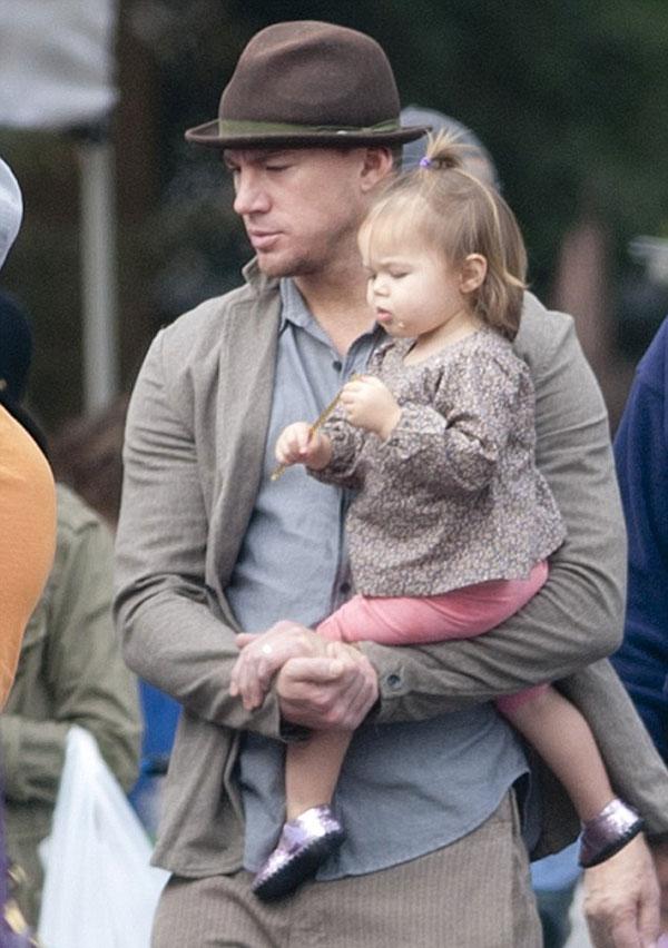 چنینگ تیتوم و فرزندش , چانینگ تاتوم و دخترش