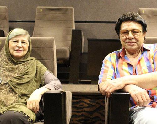 حسین عرفانی و همسرش شهلا ناظریان