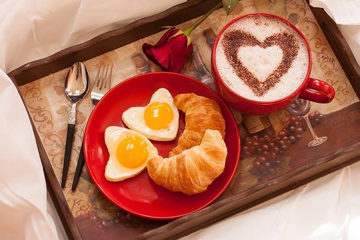 عکس تزئین صبحانه عاشقانه زیبا