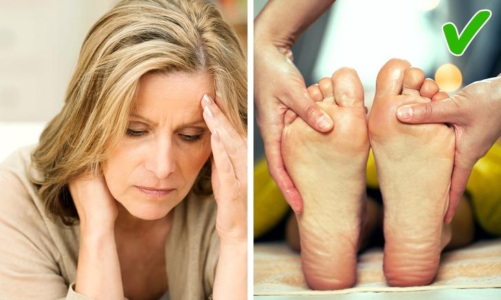 ماساژ پا برای درمان علائم ام اس