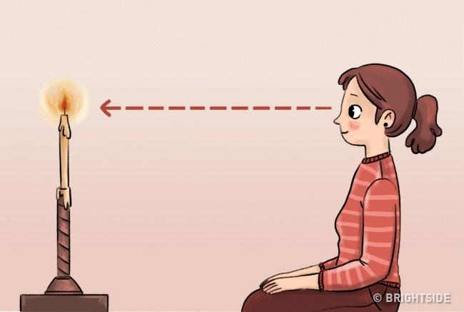 ورزش تراکاتا برای تقویت بینایی