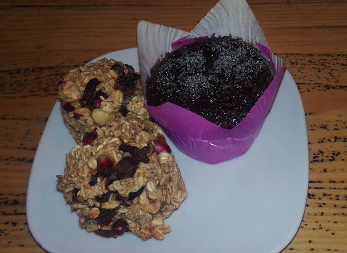 براونی کیک و کلوچه کاملا گیاهی