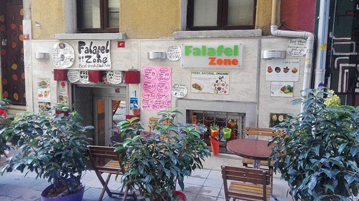 رستوران فلافل زون Falafel Zone