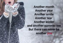 عکس نوشته زمستانی انگلیسی عاشقانه