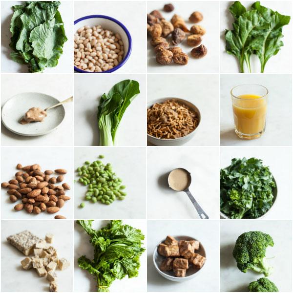 بهترین منابع گیاهی غنی از کلسیم