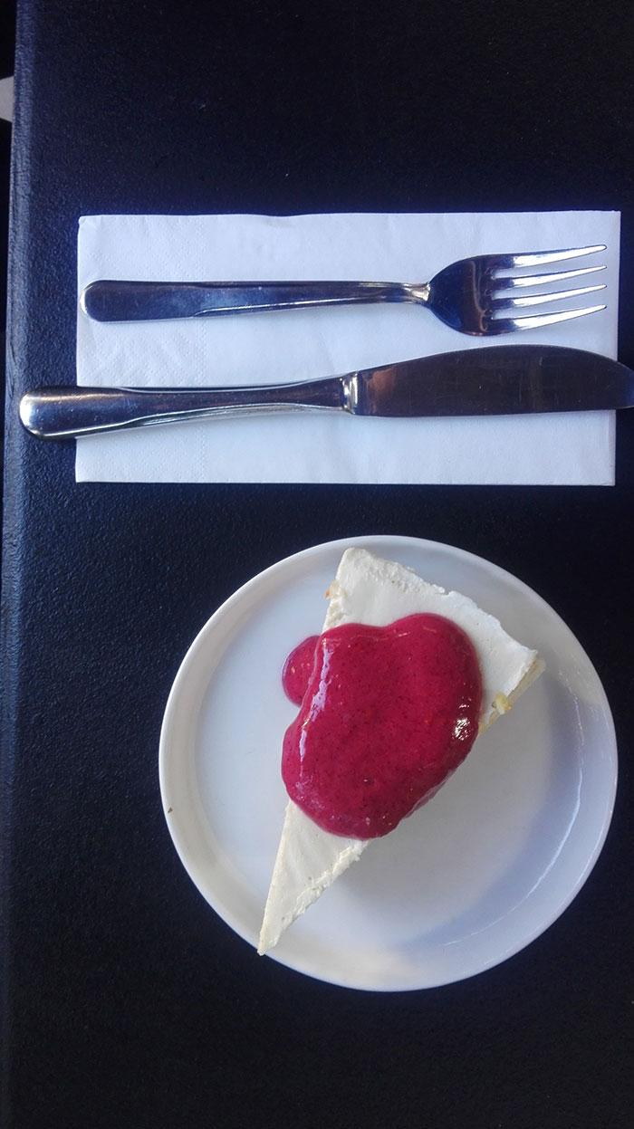 چیز کیک خوشمزه خام مخصوص افراد خام گیاهخوار