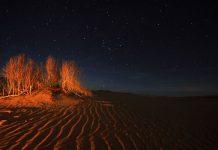 انشا در مورد آسمان شب در کویر