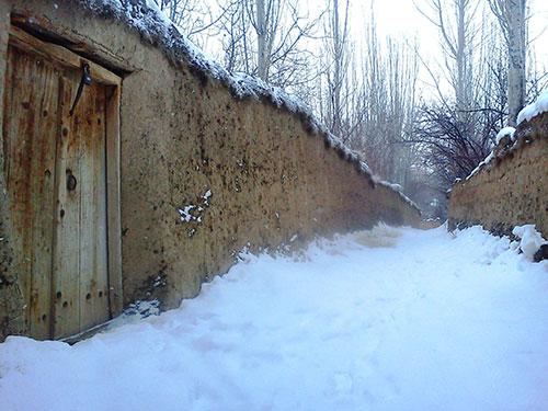 انشا درباره توصیف زمستان در یک روستا