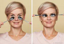 ماساژ چشم برای رفع چروک و پف زیر چشم