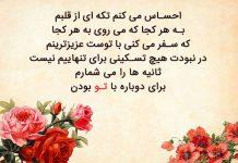 متن بلند عاشقانه و دلتنگی