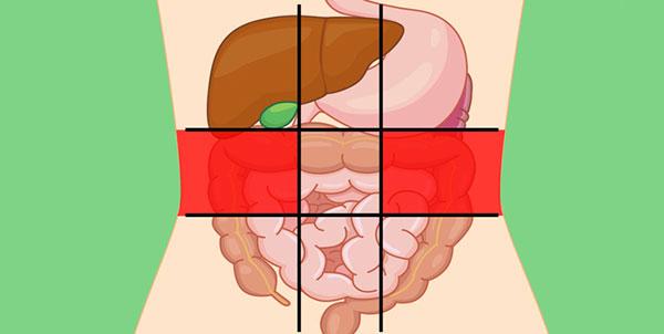 علت درد در سمت راست و چپ شکم