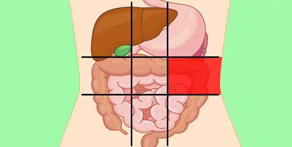 علت درد در سمت چپ شکم