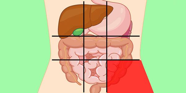 علت درد در قسمت پایین و سمت چپ شکم