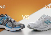 تفاوت کفش پیاده روی (والکینگ) و کفش دویدن (رانینگ)