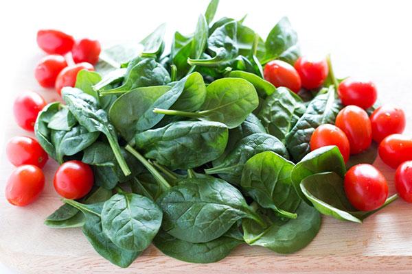 سبزیجات دارای ویتامین ب 2