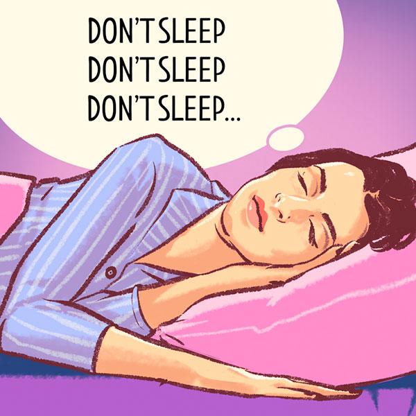روش های خوابیدن سریع
