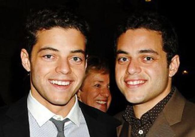 رامی و برادرش سامی ملک