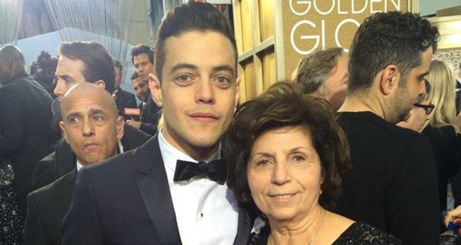 رامی ملک و مادرش