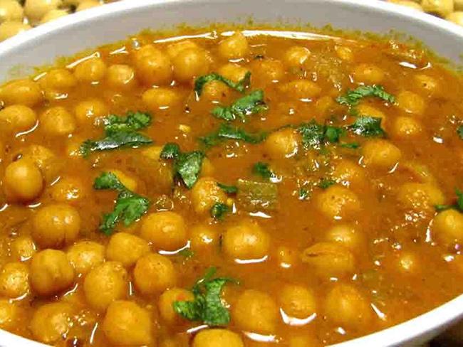 طرز تهیه خورش نخود هندی