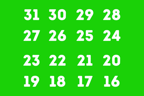 آیا عددتان را در این تصویر می بینید؟
