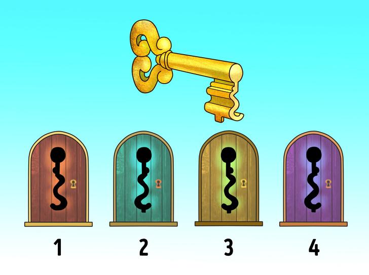 کدام قفل برای این کلید مناسب تر است؟