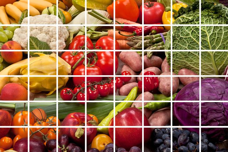 چه چیزی بین سبزیجات مخفی شده است؟