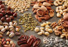 خواص انواع آجیل و مغزهای خوراکی