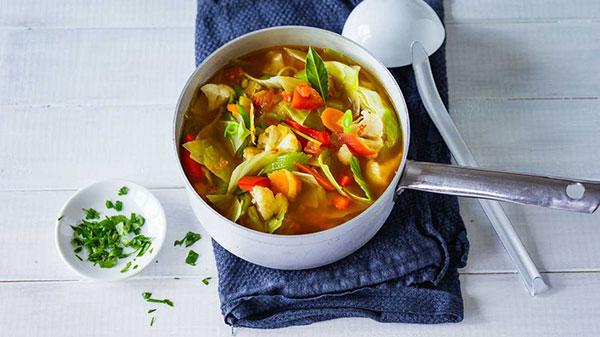 رژیم یک هفته ای سوپ کلم برای لاغری