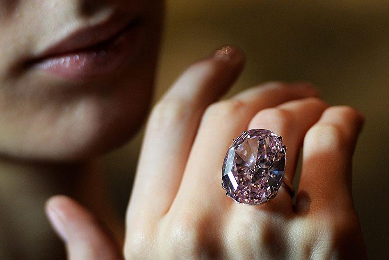 عکس های گران ترین انگشتر الماس دنیا